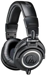 Audio Technica's ATH-M50X is a well balanced headphone for an audiophile on the move.
