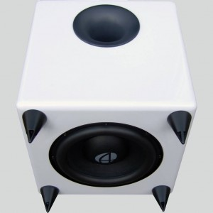 Digging deep, the Audioengine S8 active subwoofer.