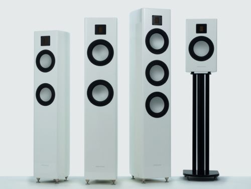Gauder Akustic's Arcona range of speakers.