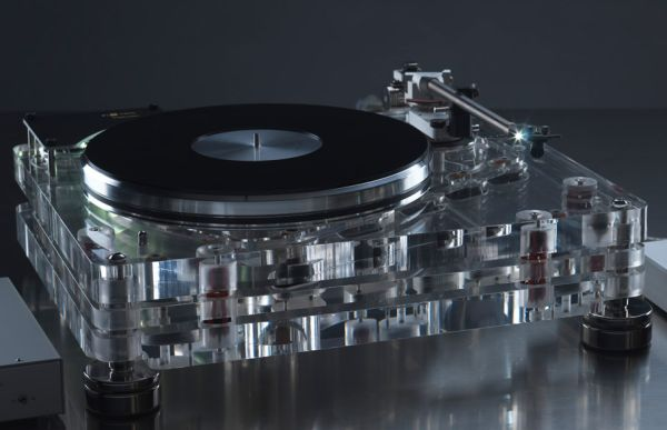The Vertere turntable.