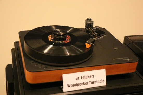 Dr Feickert Woodpecker turntable