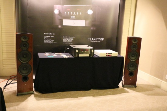 The new Revel speakers sounded mellow being driven by the Mark Levinson integrated amp with Playback Design CD player as source.