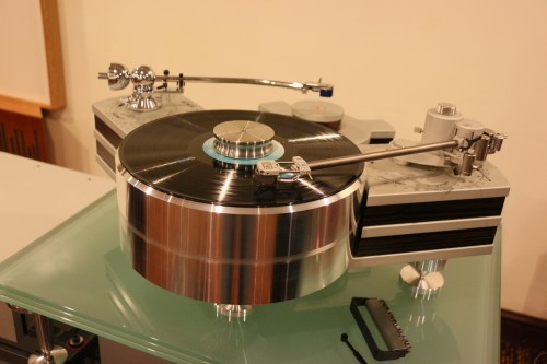 The source was the huge Sperling turntable.