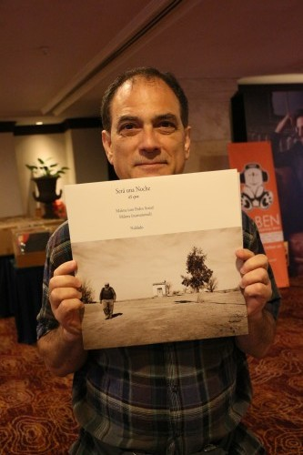 Selling hhis audiophile CDs and LPs was Todd Gardinkle, the man behind MA recordings. Todd is a very pleasant man and he will readily autograph the CD or LP that you buy.