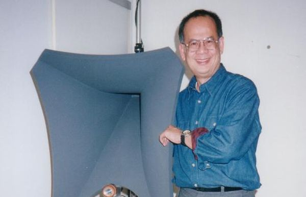 Dr Tan. Pic from Stereophile.