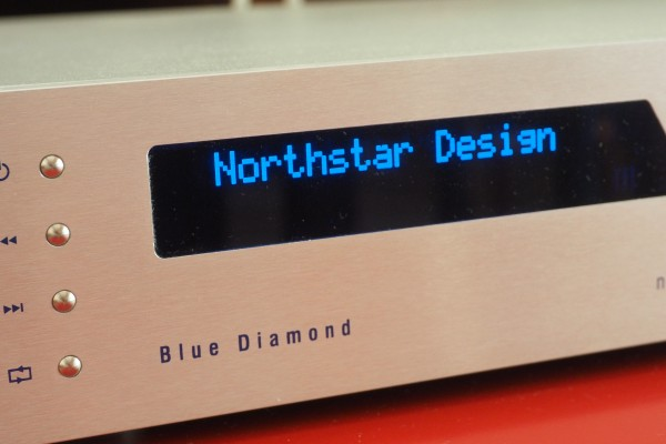 The Northstar Blue Diamond CD pllayer/DAC can handle PCM 384 and DSD 11,2