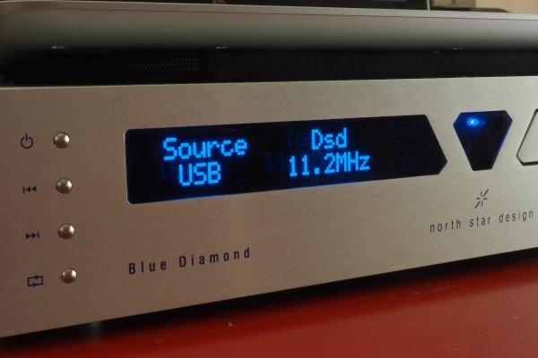 The North Star Blue Diamond accepts quad DSD.